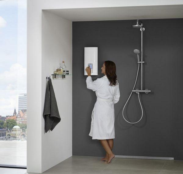 voor een ongevenaard douchecomfort de dhe touch en dhe. Black Bedroom Furniture Sets. Home Design Ideas