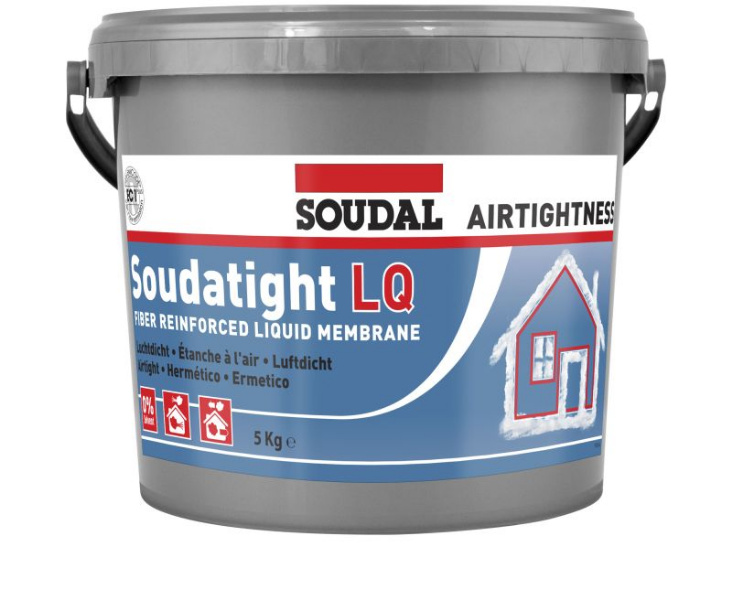 soudatight lq membrane liquide pour l 39 tanchit l 39 air soudal. Black Bedroom Furniture Sets. Home Design Ideas