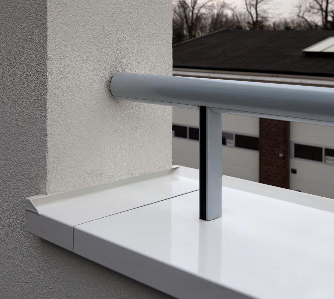 Roval aluminium dtails de finition en aluminium roval aluminium - Couvertine alu muret ...