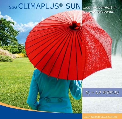 Sgg climaplus sun 4 saisons de lumire et de confort saint - Double vitrage saint gobain ...