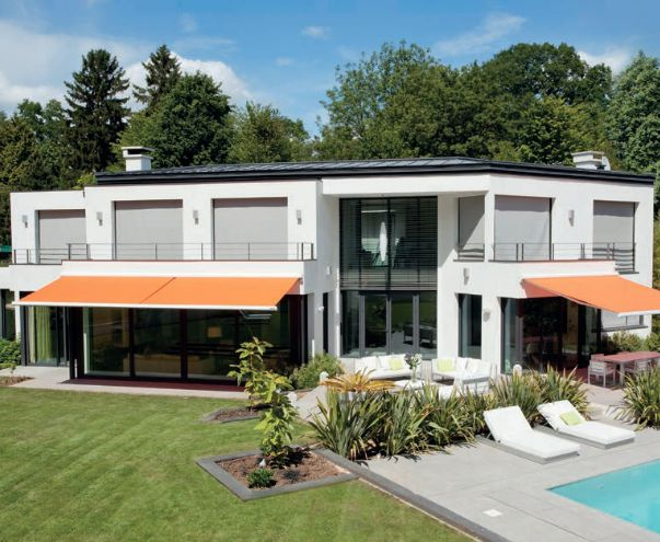 Somfy une maison confortable grace la protection solaire active somfy - Maison active ...