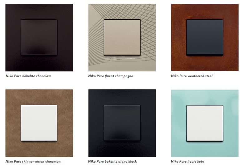 switch to beauty des interrupteurs rsolument design niko. Black Bedroom Furniture Sets. Home Design Ideas