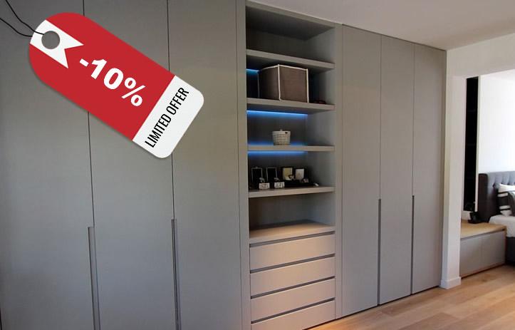 dernire chance pour conomiser 10 sur votre armoire sur. Black Bedroom Furniture Sets. Home Design Ideas