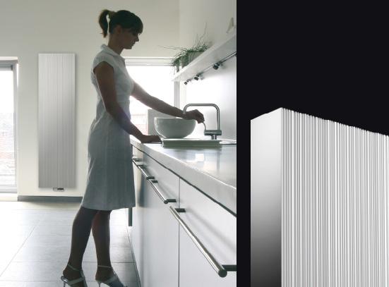 Bryce Plus aluminium designradiator met maximale warmteafgifteVasco Gro # Designradiator Eva_054108