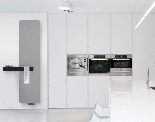 Porte serviettes multifonctionnels pour les radiateurs for Porte serviette pour radiateur