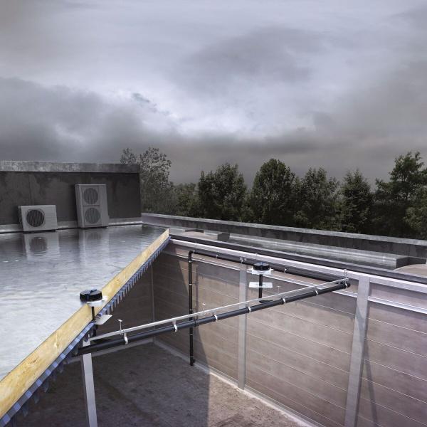 Ingenieus Systeem Van Dakafwatering Nog Optimaler Dan