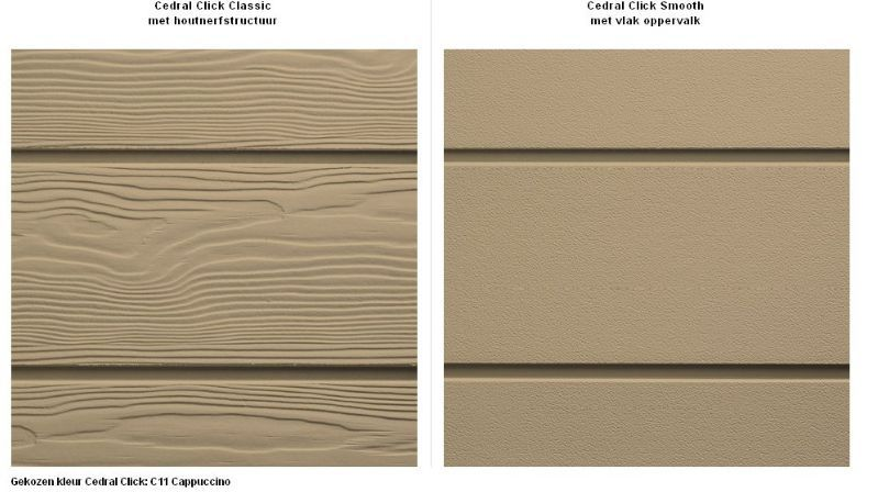 cedral click gevelbekleding in enkele klikken en vezelcementleien voor dak en gevel eternit. Black Bedroom Furniture Sets. Home Design Ideas