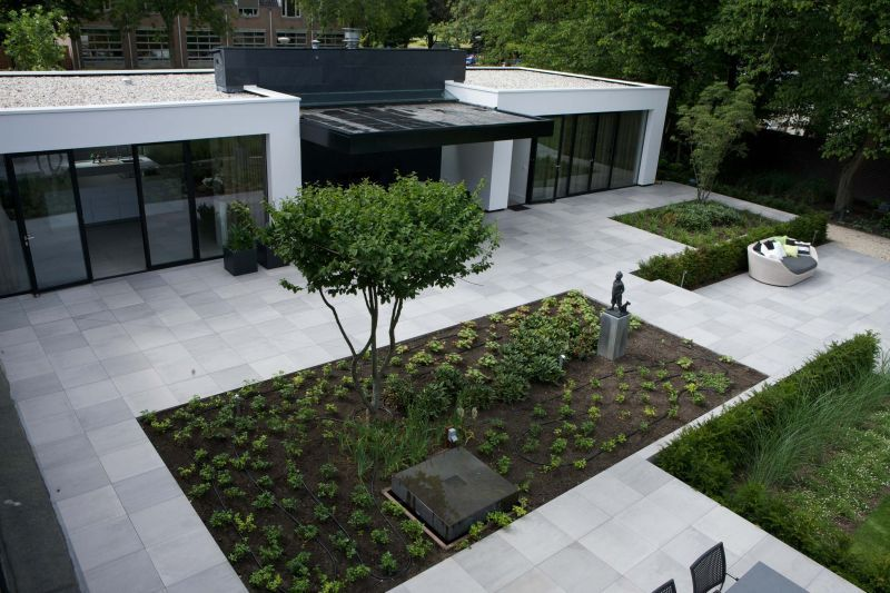 Stem je terras stijlvol af op je interieur met de outdoor collectie mosa xt mosa for Achat de gravier pour jardin